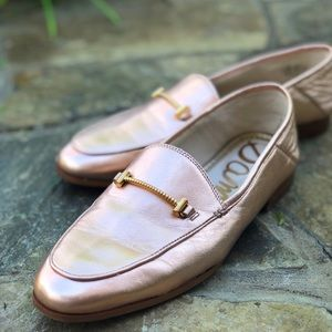 Lior Bit Loafer 'Blush Gold' Sam Edelman Size 7.5